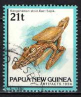 PAPUA NUOVA GUINEA - 1994 - Kanganaman Stool, East Sepik - USATO - Papua Nuova Guinea
