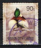 PAPUA NUOVA GUINEA - 1992 - Paradisaea Guilielmi - USATO - Papua Nuova Guinea