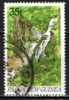 PAPUA NUOVA GUINEA - 1990 - Rouna Falls - USATO - Papua Nuova Guinea