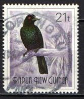 PAPUA NUOVA GUINEA - 1991 - Ptiloris Magnificus - USATO - Papua Nuova Guinea