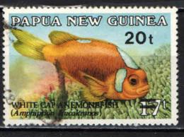 PAPUA NUOVA GUINEA - 1989 - Overprinted - USATO - Papua Nuova Guinea