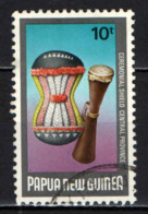 PAPUA NUOVA GUINEA - 1984 - Ceremonial Shield - USATO - Papua Nuova Guinea