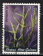 PAPUA NUOVA GUINEA - 1983 - Acropora Sp - USATO - Papua Nuova Guinea