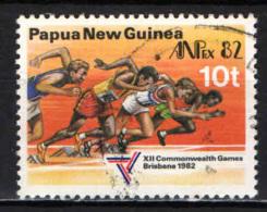 PAPUA NUOVA GUINEA - 1982 - Running - USATO - Papua Nuova Guinea