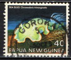PAPUA NUOVA GUINEA - 1978 - Sea Slugs: Chromodoris Trimarginata - USATO - Papua Nuova Guinea
