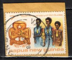 PAPUA NUOVA GUINEA - 1977 - Girl Guides - USATO - Papua Nuova Guinea
