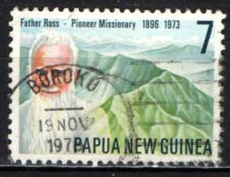 PAPUA NUOVA GUINEA - 1976 - Rev. Father William Ross (1896-1973) American Missionary In New Guinea - USATO - Papua Nuova Guinea