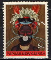 PAPUA NUOVA GUINEA - 1968 - Chimbu District Headdress - USATO - Papua Nuova Guinea