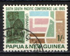 PAPUA NUOVA GUINEA - 1965 - 6th South Pacific Conf., Lae, July, 1965 - USATO - Papua Nuova Guinea