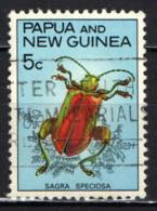 PAPUA NUOVA GUINEA - 1967 - Leaf Beetle - USATO - Papua Nuova Guinea