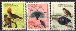 PAPUA NUOVA GUINEA - 1964 - UCCELLI - BIRDS - USATI - Papua Nuova Guinea