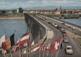 Simca 1000,Peugeot 404,DKW 1000,Junior,VW Käfer,Renault Dauphine,4 CV,Grenzübergang Kehl, Ungelaufen - Passenger Cars