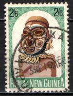 PAPUA NUOVA GUINEA - 1964 - Carved Heads - USATO - Papua Nuova Guinea