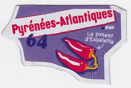 Magnet Le Gaulois - Pyrénées-Atlantiques 64 - Magnets