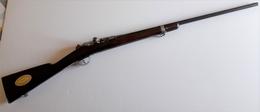 Fusil Gras Recalibré Chasse - Prix D'éducation Physique Offert Par Le Ministre - Decorative Weapons