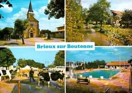 BRIOUX Sur BOUTONNE - Multivues. CPM - Brioux Sur Boutonne