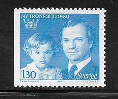 SUEDE  ( EUSU - 222  ) 1980  N° YVERT ET TELLIER  N° 1083   N** - Schweden
