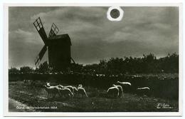 ASTRONOMY : SOLAR ECLIPSE 1954 / OLAND, SWEDEN - SOLFORMORKELSEN 1954 - Astronomie