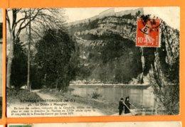 SPR324, Environs De Besançon, Le Doubs à Mazagran, 46, Animée, Circulée 1914 - France