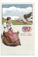 21933 - Costumes Suisses Unterwald Obwald Unterwalden Obwalden Schweizer Trachten - Costumes