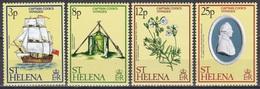 St. Helena 1979 Geschichte History Entdeckungen Discovery James Cook Seefahrt Schiffe Ships, Mi. 313-6 ** - St. Helena