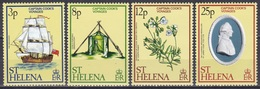 St. Helena 1979 Geschichte History Entdeckungen Discovery James Cook Seefahrt Schiffe Ships, Mi. 313-6 ** - Isla Sta Helena