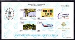 PRUEBA OFICIAL Nº 59 (EDIFIL) AVIACION Y ESPACIO - (Prueba De Lujo Nº 12) - OFERTA POR LIQUIDACION - Hojas Conmemorativas