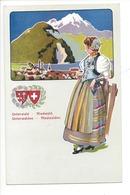 21934 - Costumes Suisses Unterwald Niedwald Unterwalden Niedwalden Schweizer Trachten - Costumes