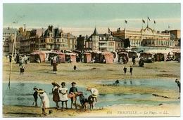 14 : TROUVILLE - LA PLAGE (LL) - Trouville