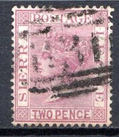 SIERRA LEONE - (Colonie Britannique) - 1883-95 - N° 22 - 2 P. Lilas - (Victoria) - Sierra Leone (...-1960)