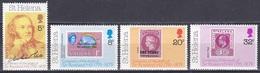 St. Helena 1979 Geschichte History Postgeschichte Rowland Hill Philatelie Philately Fische Fish Stamps, Mi. 317-0 ** - Isla Sta Helena
