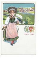 21935 - Costumes Suisses Thurgovie Thurgau Schweizer Trachten - Costumes