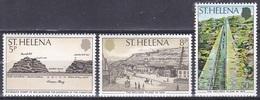 St. Helena 1979 Geschichte Persönlichkeiten R.F. Seal Architektur Bauwerke Schiefe Ebene Stiegen Stufen, Mi. 321-3 ** - Isla Sta Helena