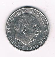1 FRANC 1988  CHARLES  DE GAULLE FRANKRIJK /3865/ - France