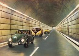 """VW Käfer,Bus T1 """"AEG"""",Opel Rekord P II,Rendsburg,Straßentunnel, Ungelaufen - Turismo"""