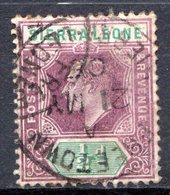 SIERRA LEONE - (Colonie Britannique) - 1904-05 - N° 62 Et 63 - (Lot De  Valeurs Différentes) - (Edouard VII) - Sierra Leone (...-1960)