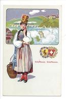 21938 - Costumes Suisses Schaffhouse Schaffhausen Schweizer Trachten - Costumes