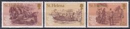 St. Helena 1980 Geschichte History Königshäuser Royals Kaiserin Eugenie Napoleon Schiffe Ships Grab, Mi. 324-6 ** - St. Helena