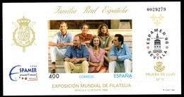 PRUEBA OFICIAL Nº 58 (EDIFIL) FAMILIA REAL ESPAMER 96 - (Prueba De Lujo Nº 11) - OFERTA POR LIQUIDACION - Hojas Conmemorativas