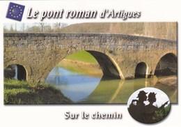 Le Pont Roman D'Artigues, à Beaumont Près De Condom, Chemin Saint-Jacques De Compostelle - Pélerins - Coquille - Pilgrim - Frankreich