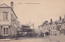 Mons Le Marché Aux Poissons Circulée En 1920 - Mons