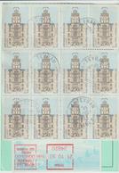 Ordre De Réexpédition Définitif O. Teyran Hérault -> Montpellier - Marcophilie (Lettres)