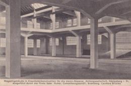 Magazingebäude In Eisenbetonkonstruktion Für Die Union-Gieserei Aktiengesellschaft Kônigsberg I. Pr. - Allemagne