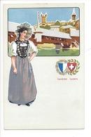 21940 - Costumes Suisses Lucerne Luzern Schweizer Trachten - Costumes