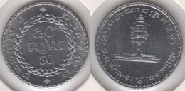Cambogia Kampuchea 50 Ries 1994 KM#92 - Used - Camboya