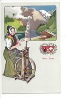 21942 - Costumes Suisses Glaris Glarus Schweizer Trachten - Costumes