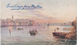 Malta Greeting From Malta - Malte