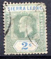 SIERRA LEONE - (Colonie Britannique) - 1904-05 - N° 72 - 2 S. Vert Et Outremer - (Edouard VII) - Sierra Leone (...-1960)
