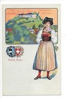 21943 - Costumes Suisses Argovie Aargau Schweizer Trachten - Costumes