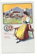 21945 - Costumes Suisses Appenzell Rhodes Intérieures Appenzel Inter Rhoden Schweizer Trachten - Costumes